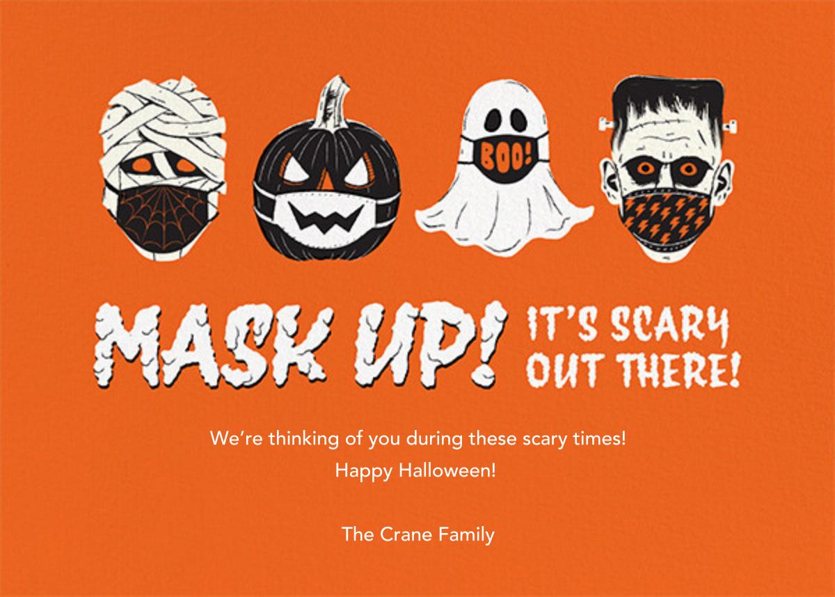 Monster Masks - Paperless Post - Halloween