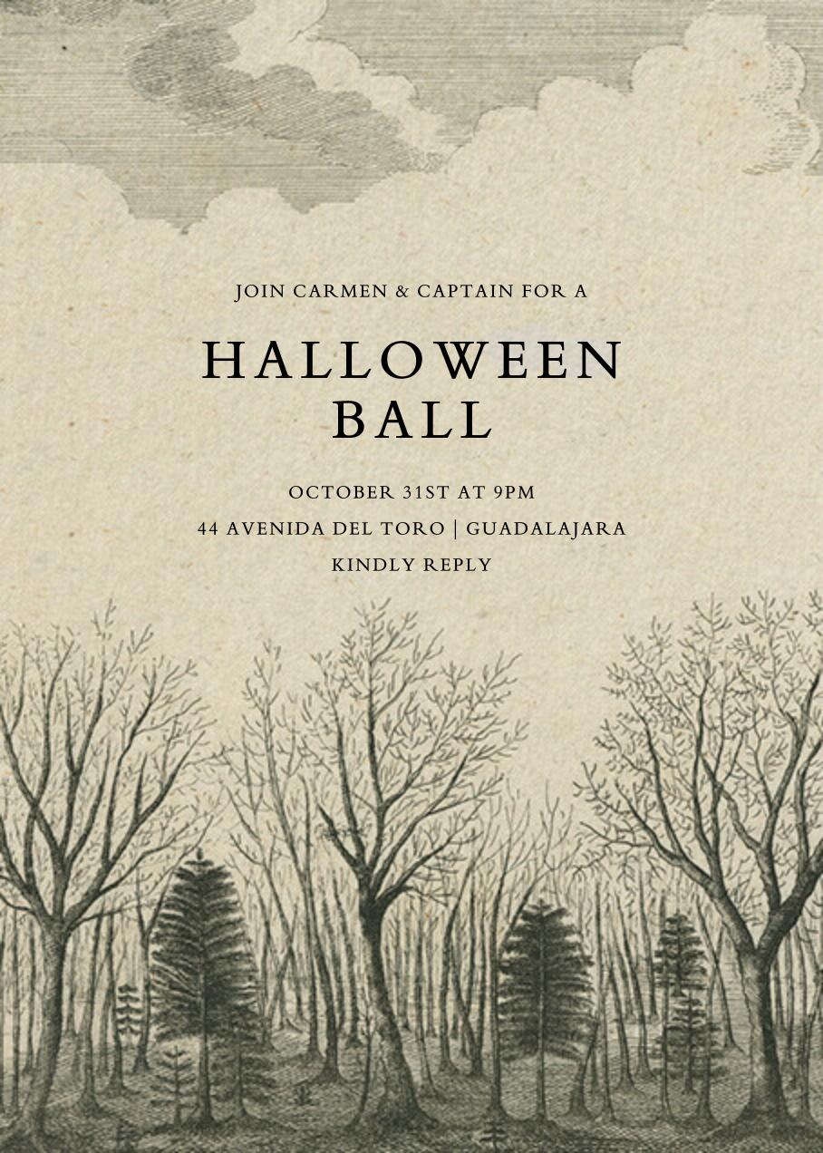 Dark Forest - John Derian - Halloween