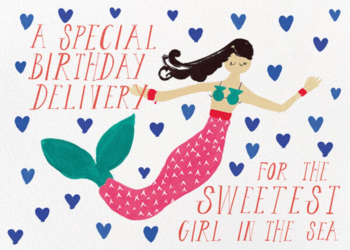 Mermaid's Birthday - Light - Mr. Boddington's Studio - Birthday