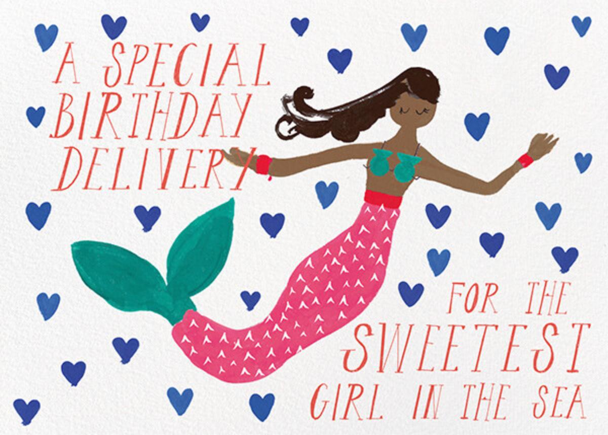 Mermaid's Birthday - Tan - Mr. Boddington's Studio - Birthday