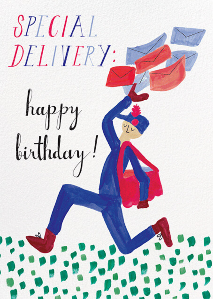 Special Delivery - Light - Mr. Boddington's Studio - Birthday
