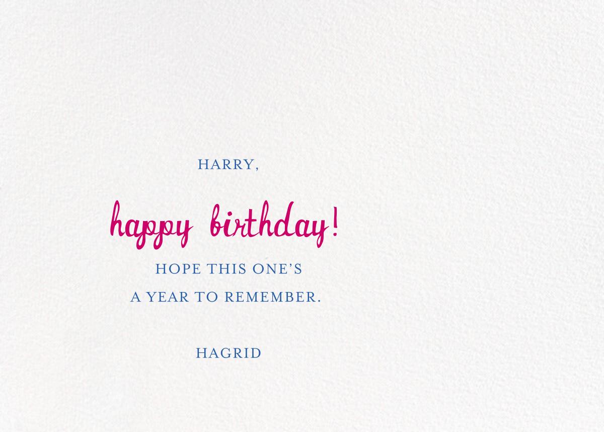 Special Delivery - Medium - Mr. Boddington's Studio - Birthday - card back