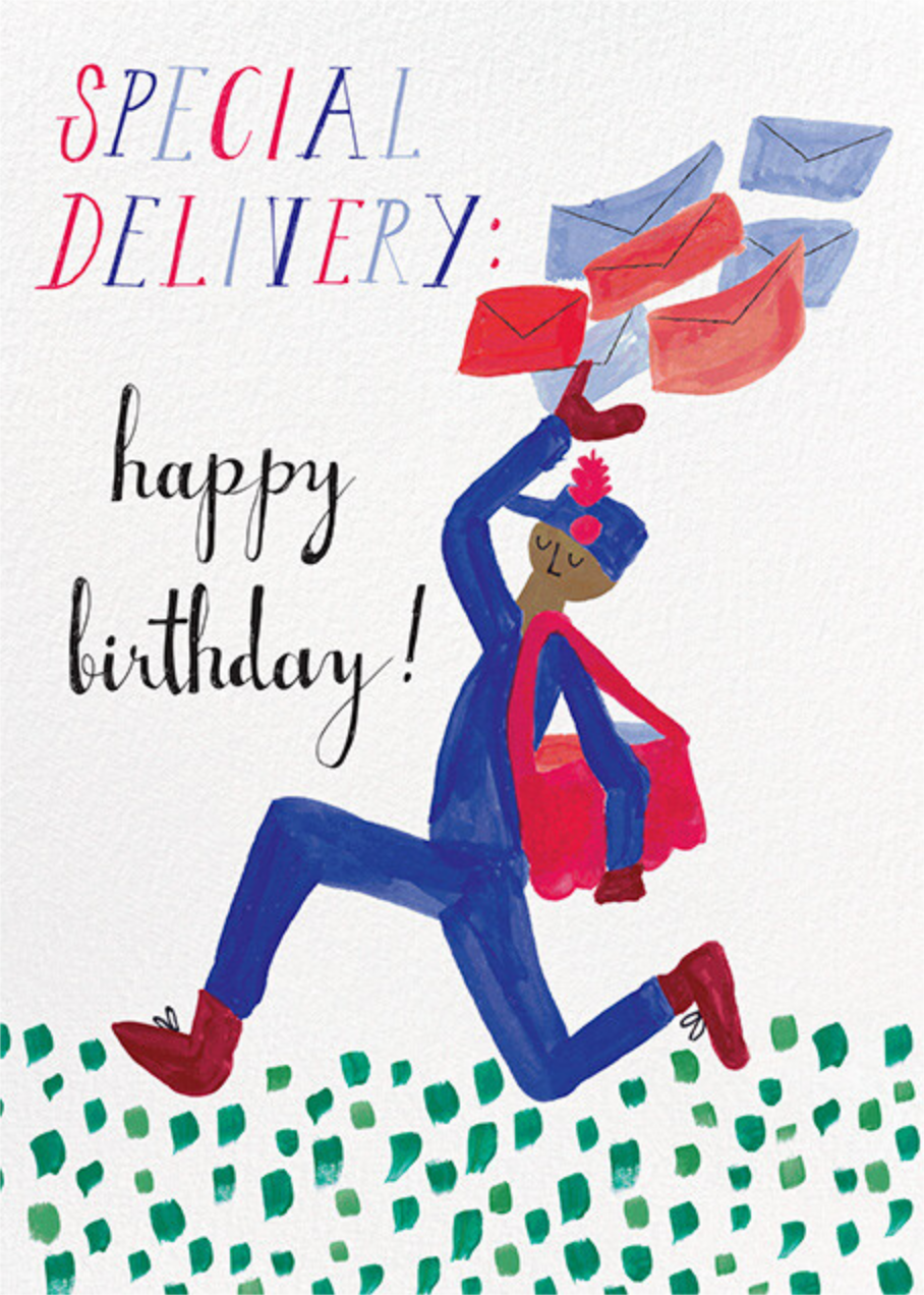 Special Delivery - Tan - Mr. Boddington's Studio - Birthday