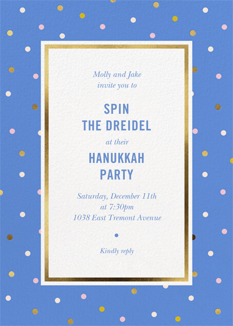 Wrapping Paper - Antwerp - kate spade new york - Hanukkah
