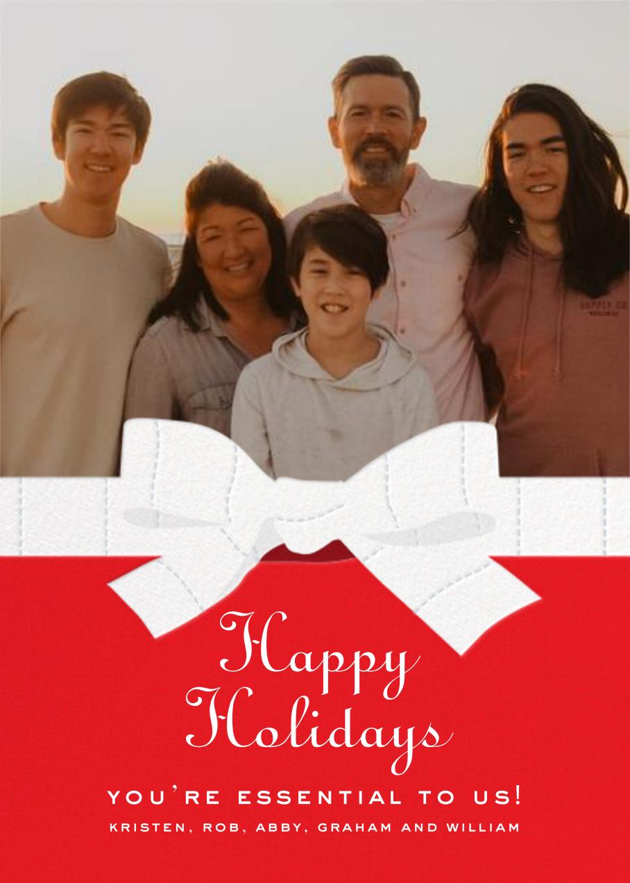 TP Bow - Maraschino - Cheree Berry - Holiday cards
