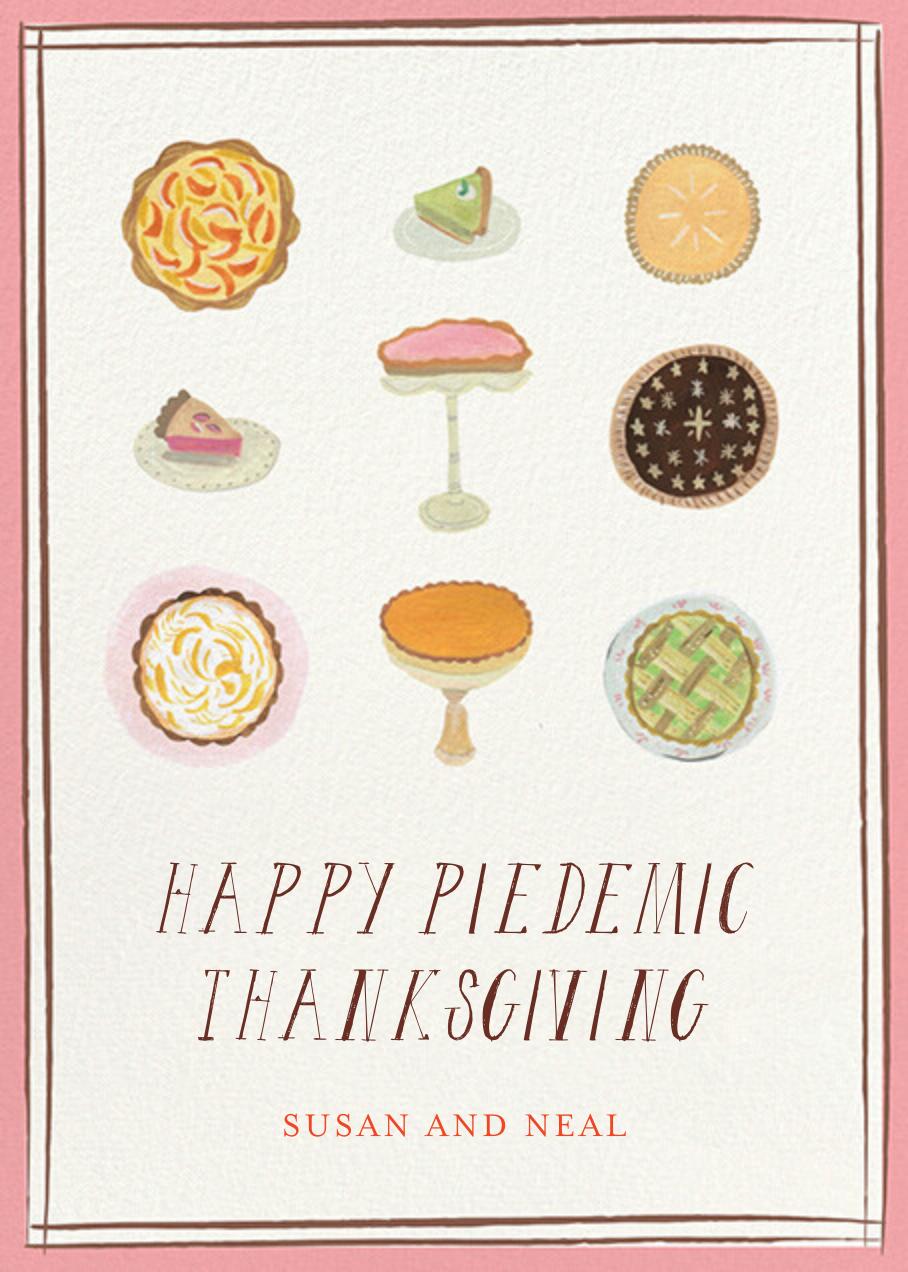 Nine Pies - Mr. Boddington's Studio - Thanksgiving