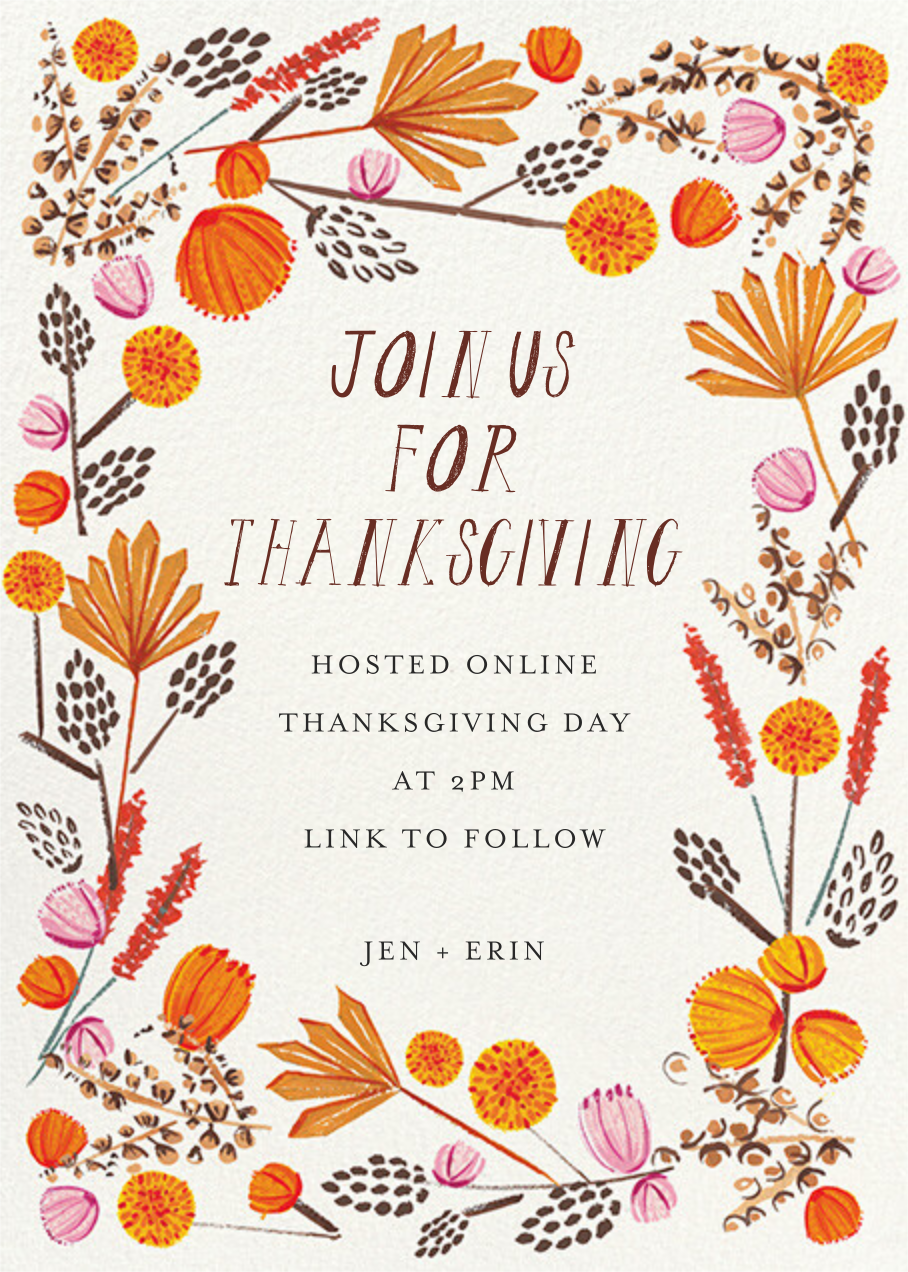 Autumn Foliage - Mr. Boddington's Studio - Thanksgiving