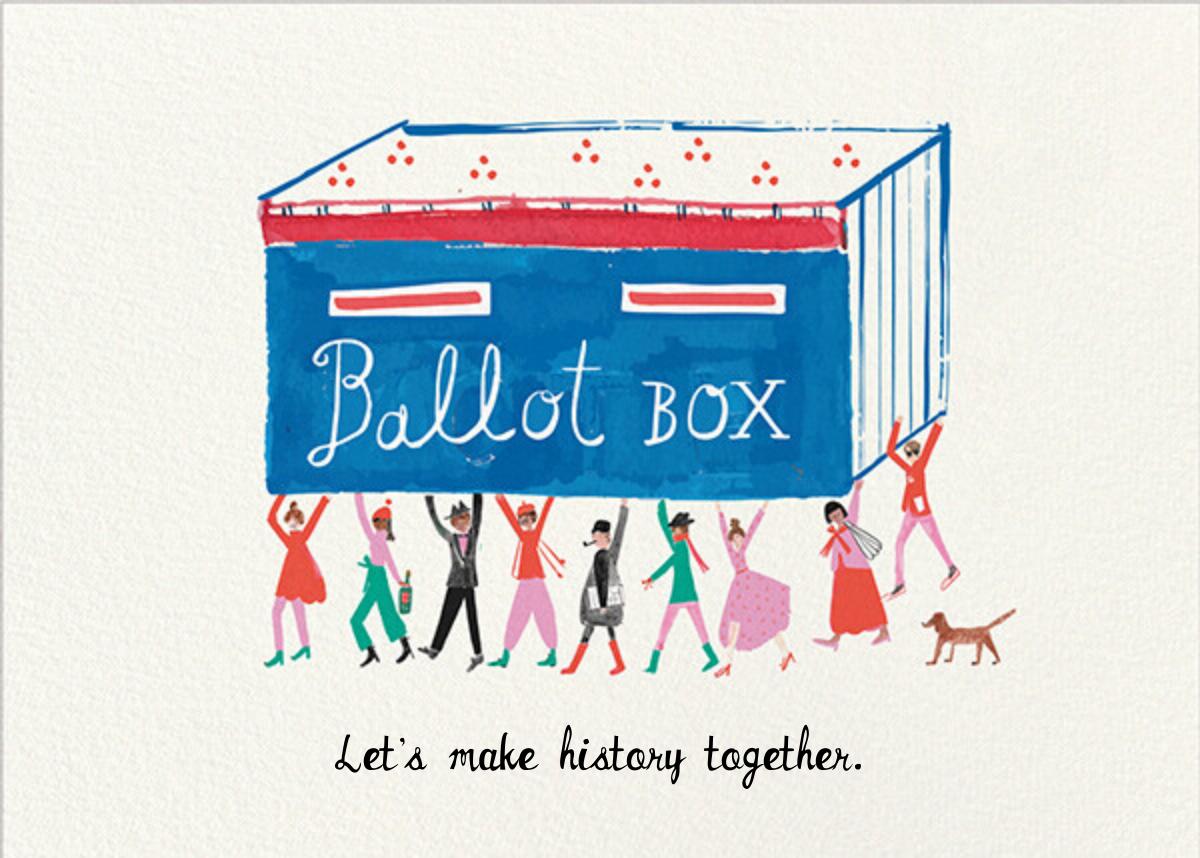 Ballot Box - Mr. Boddington's Studio - Political action
