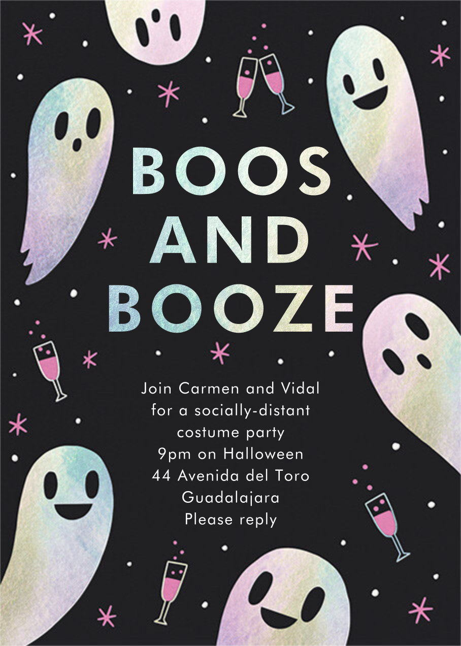 Boozy Nights - Hello!Lucky - Halloween