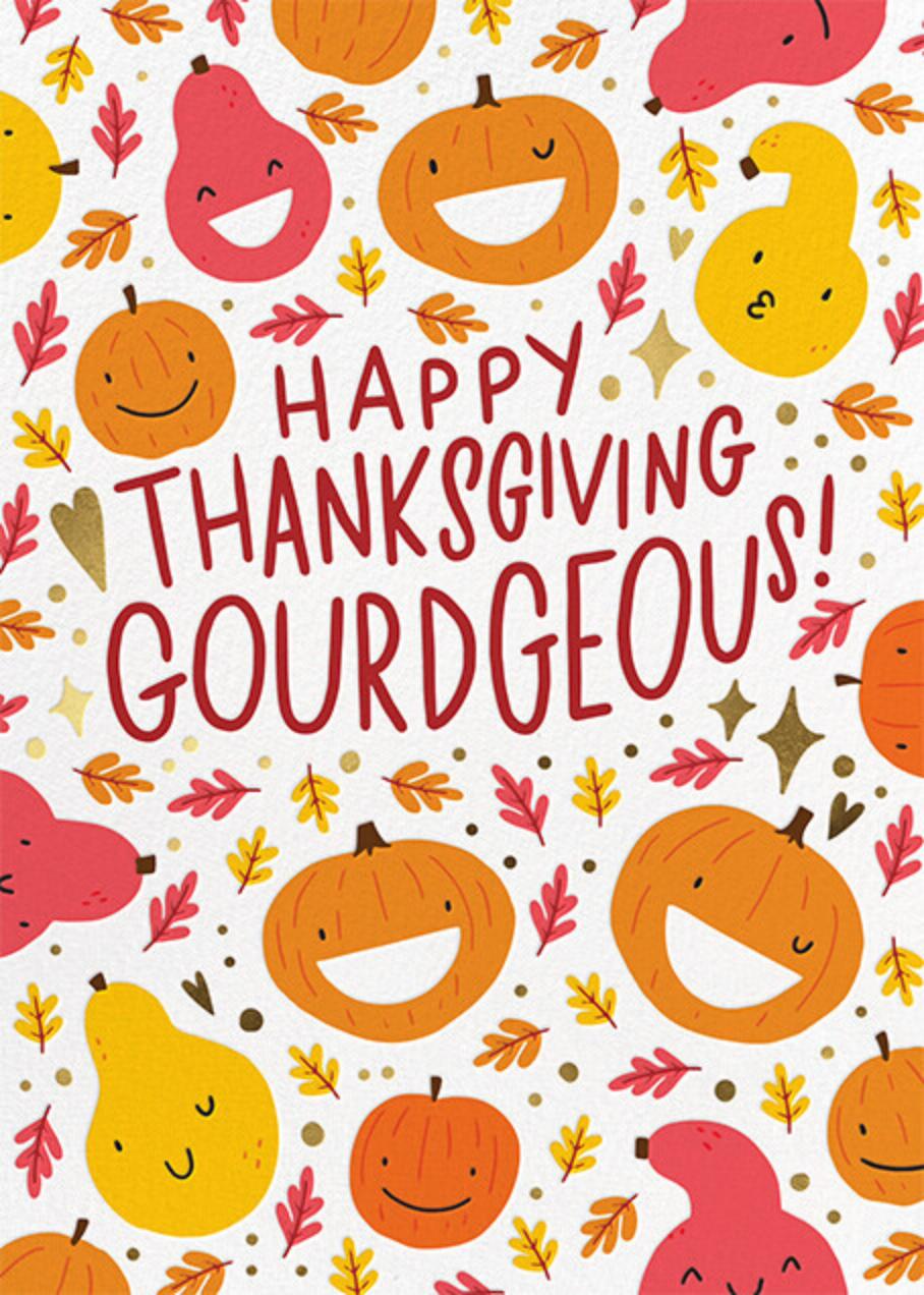 Gourdgeous - Hello!Lucky - Thanksgiving