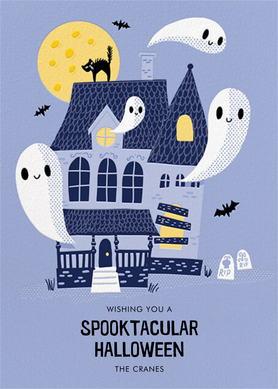 Ghostly Estate - Hello!Lucky - Halloween