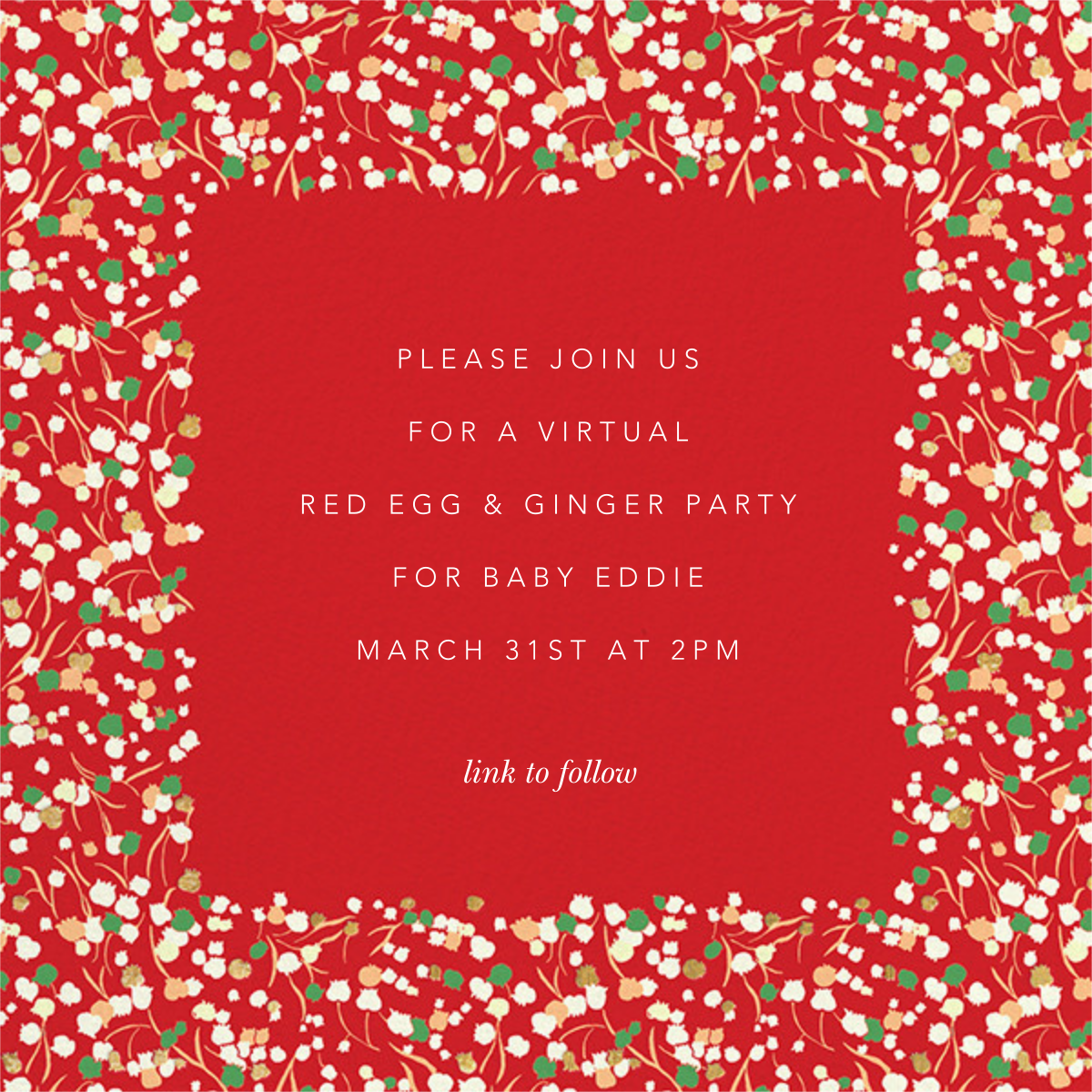 Tender Buttons Photo - Red - Anthropologie - Virtual parties - card back