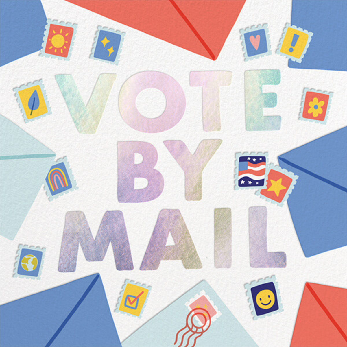 Vote by Mail - Hello!Lucky