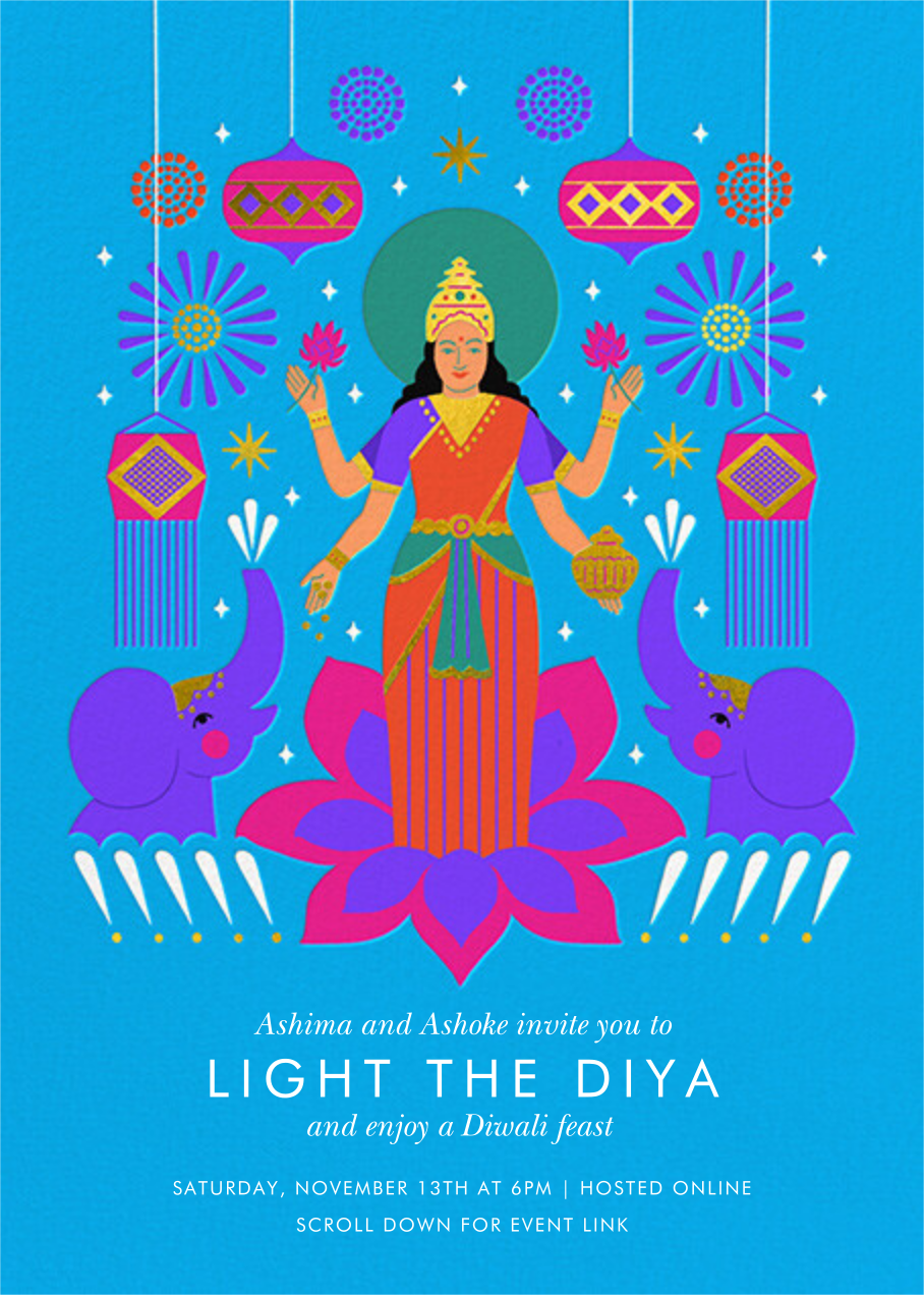 Retro Diwali - Paperless Post