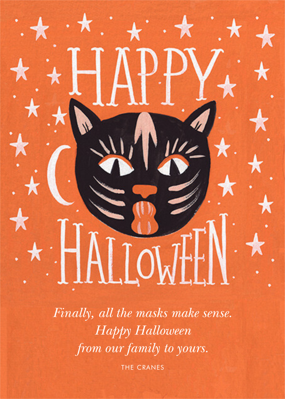 Halloween Cat - Rifle Paper Co. - Halloween