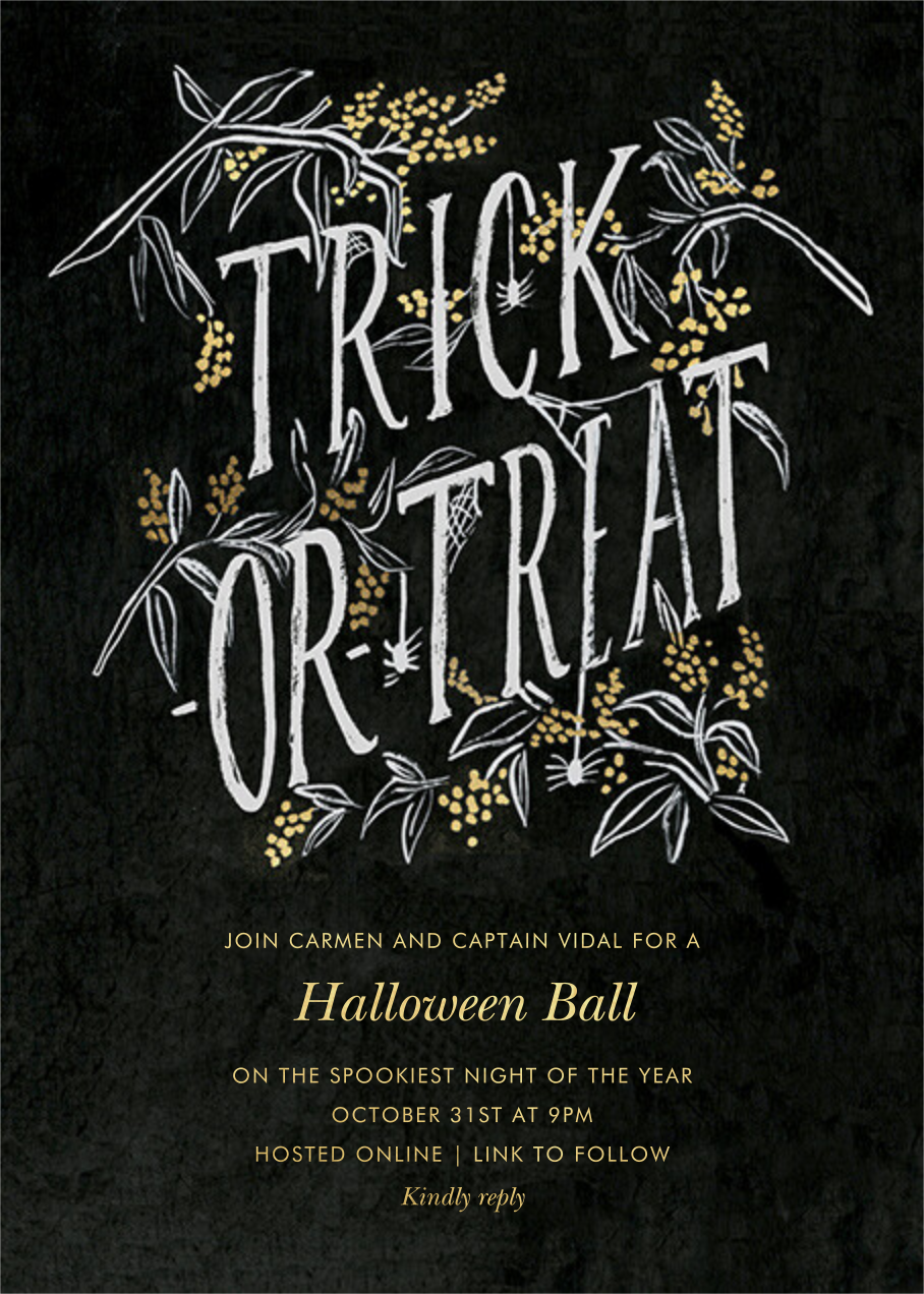 Spooky Trick or Treat - Rifle Paper Co. - Halloween