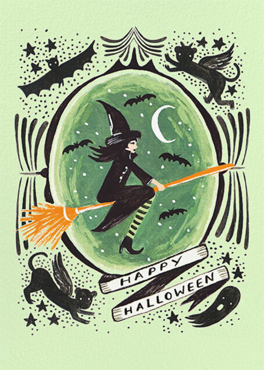 Wicked Witch Halloween - Rifle Paper Co. - Halloween
