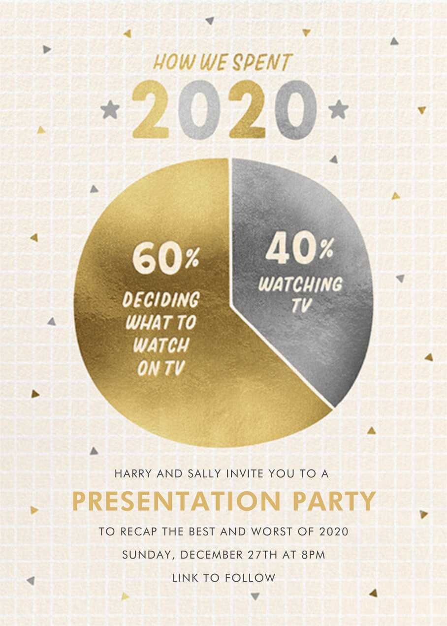 What a Year - Paperless Post - Holiday party