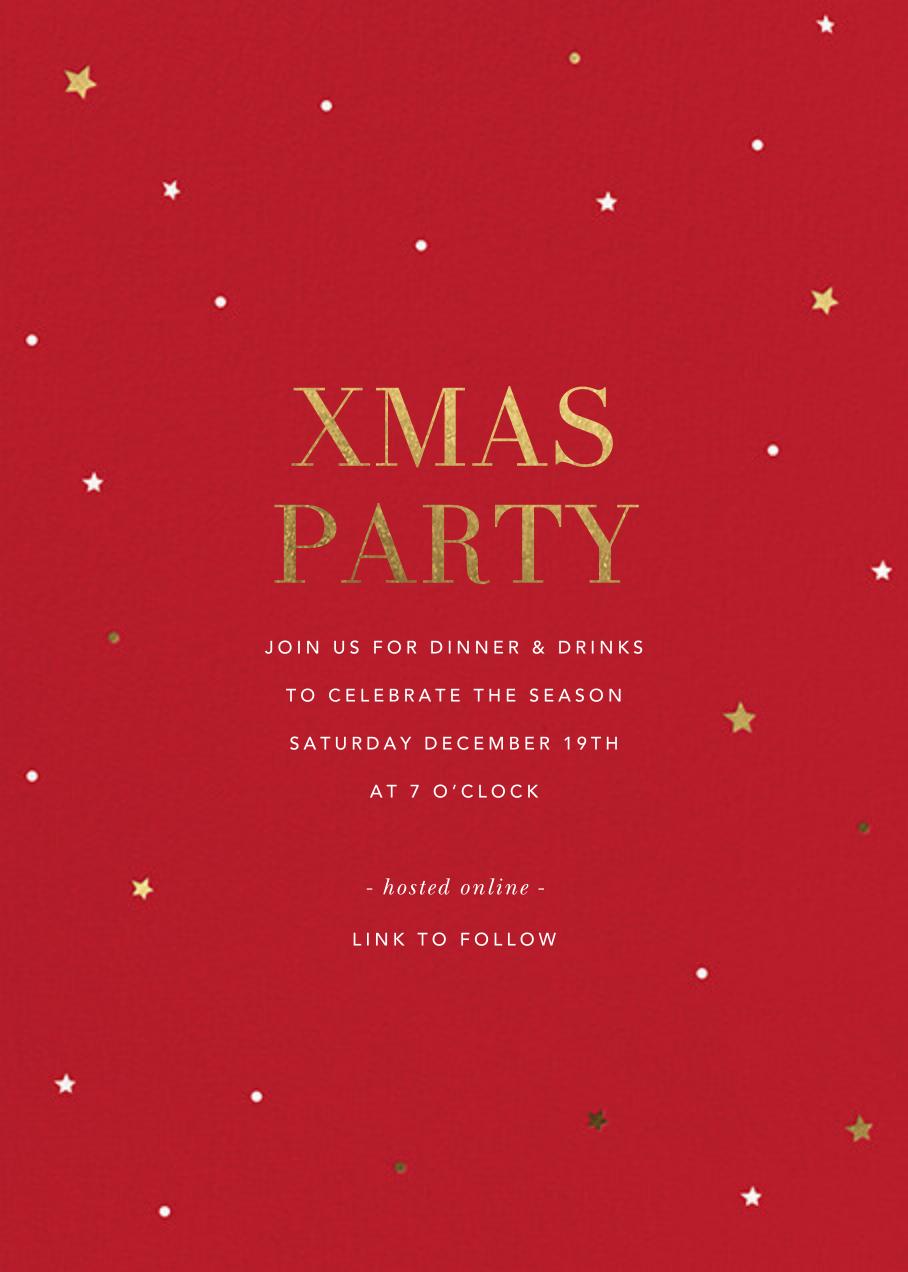 Sky Lights - Sugar Paper - Christmas party