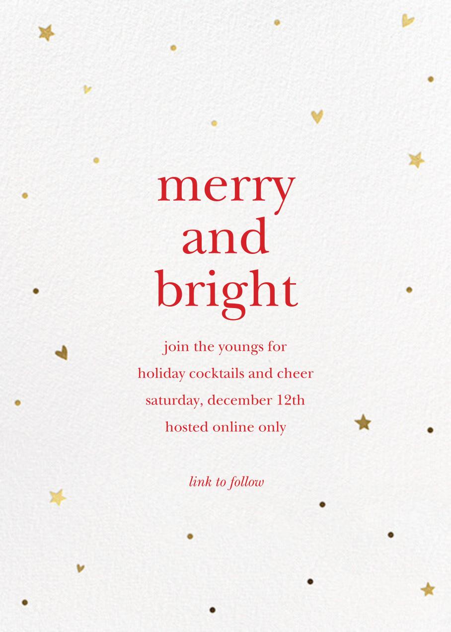 Holiday Hearts - Sugar Paper - Christmas party