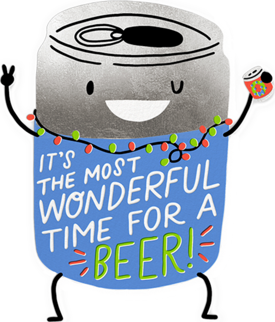 Most Wonderful Beer - Hello!Lucky - Holiday party