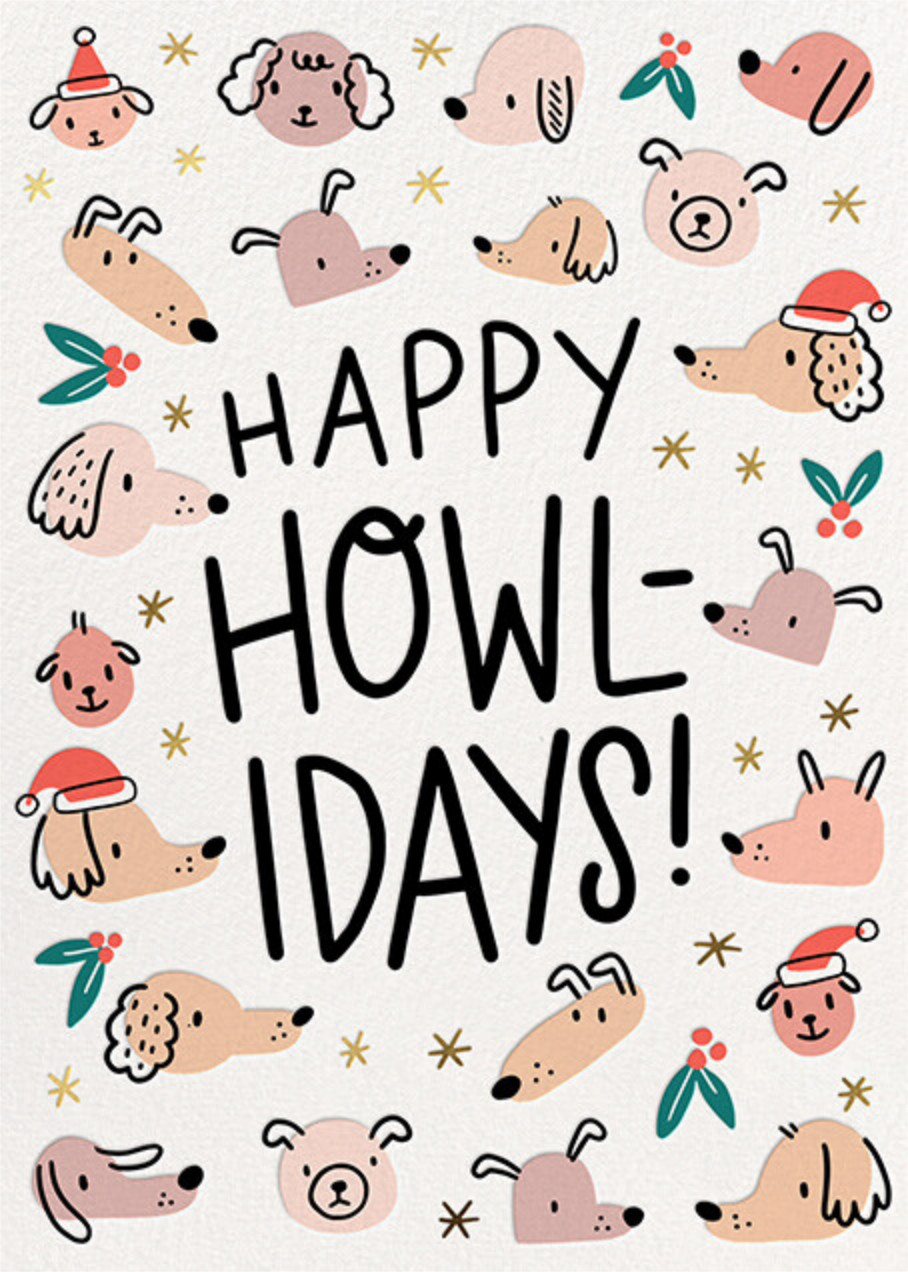 Howl-idays - Hello!Lucky - Holiday cards