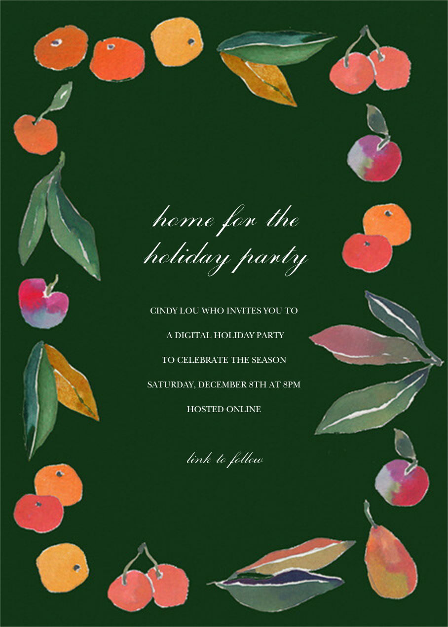 Winter Harvest - Happy Menocal - Holiday party