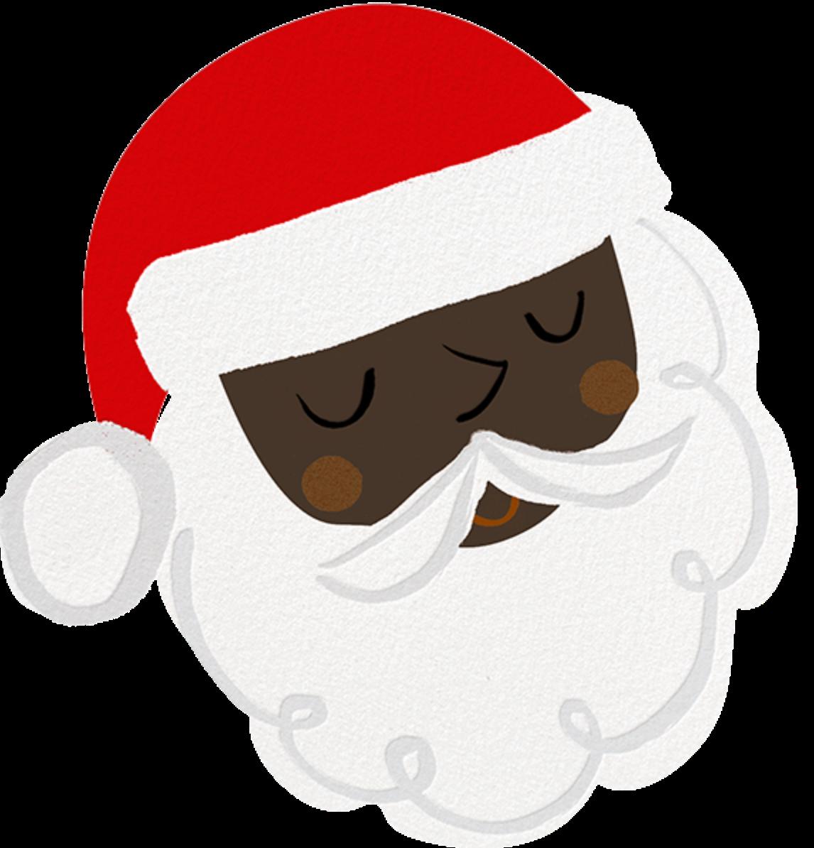 Santa's Satisfied - Deep - Meri Meri - Christmas