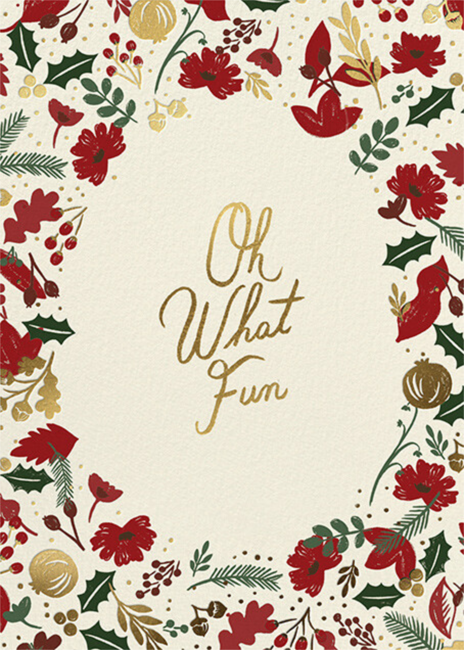 Vintage Christmas - Rifle Paper Co. - Christmas party