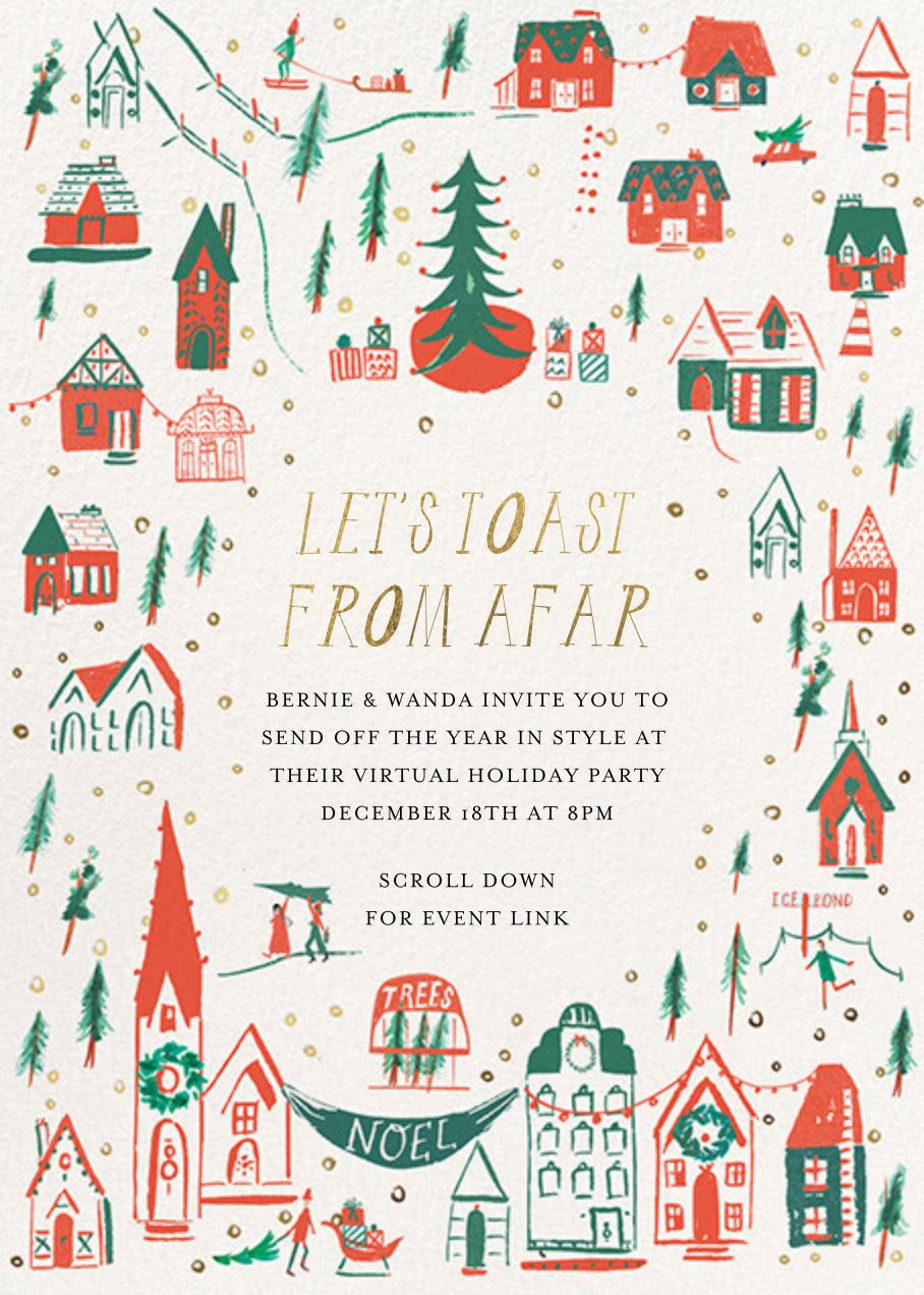 Storybook Town - Mr. Boddington's Studio - Christmas party
