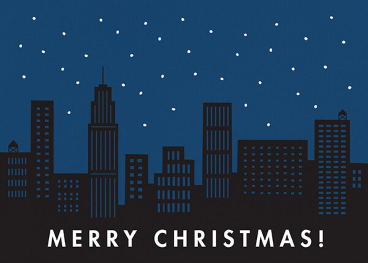 City Snow - Christmas - The Indigo Bunting - Christmas