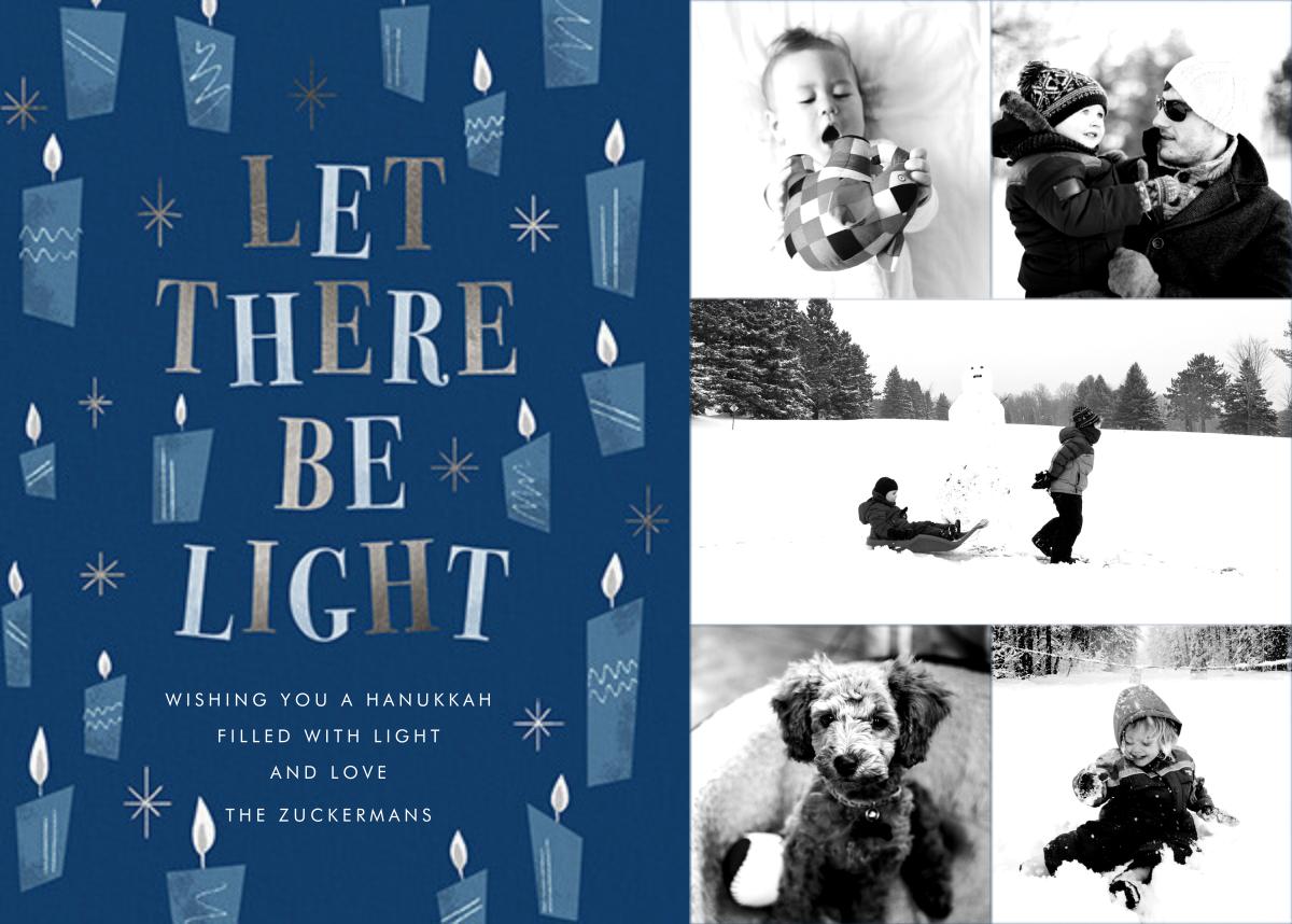 These Little Lights (5 Photos) - Hanukkah - Paperless Post - Hanukkah