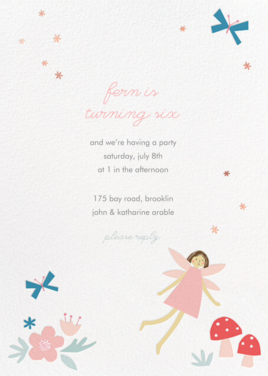 Fairy Nice - Light - Meri Meri - Kids' birthday