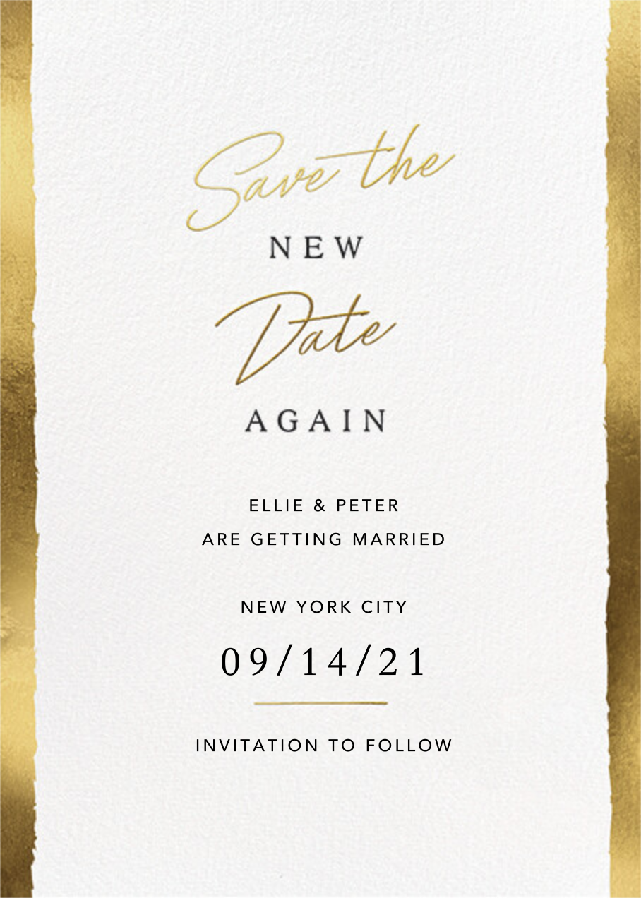 New Date - Paperless Post - Save the date