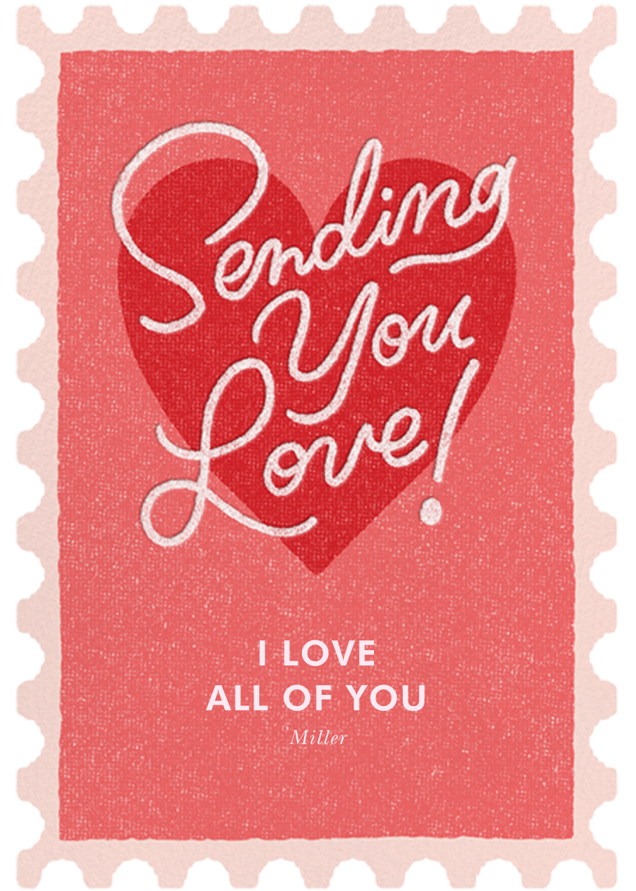 Forever Love - Paperless Post - Valentine's Day