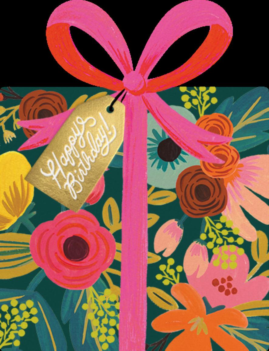 Birthday Present - Rifle Paper Co. - Cameo