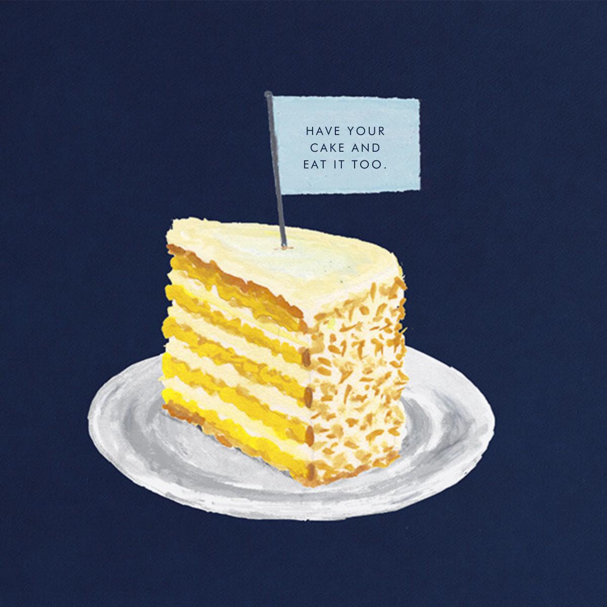 Slice of Cake - Paperless Post - Cameo