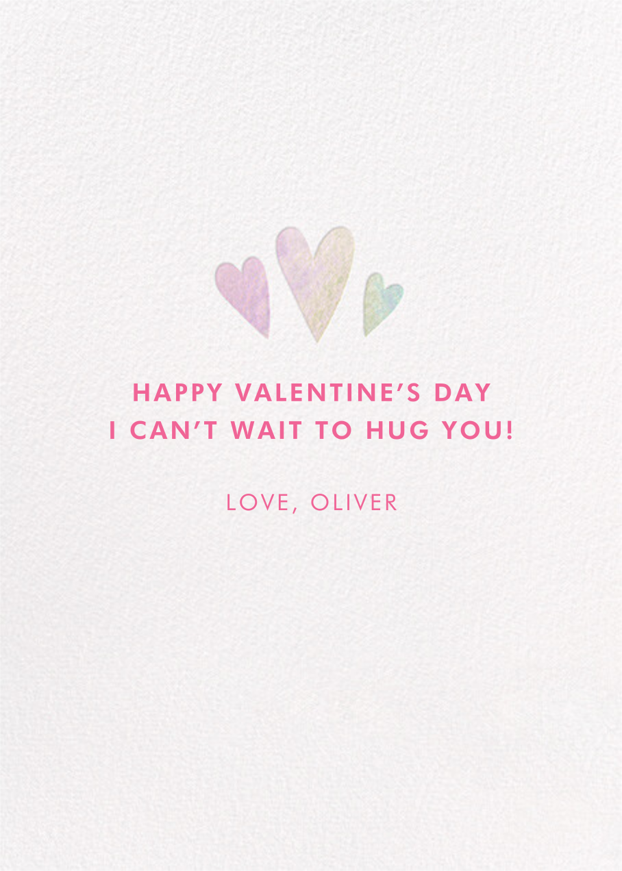 Hearts Aglow - Hello!Lucky - Valentine's Day - card back
