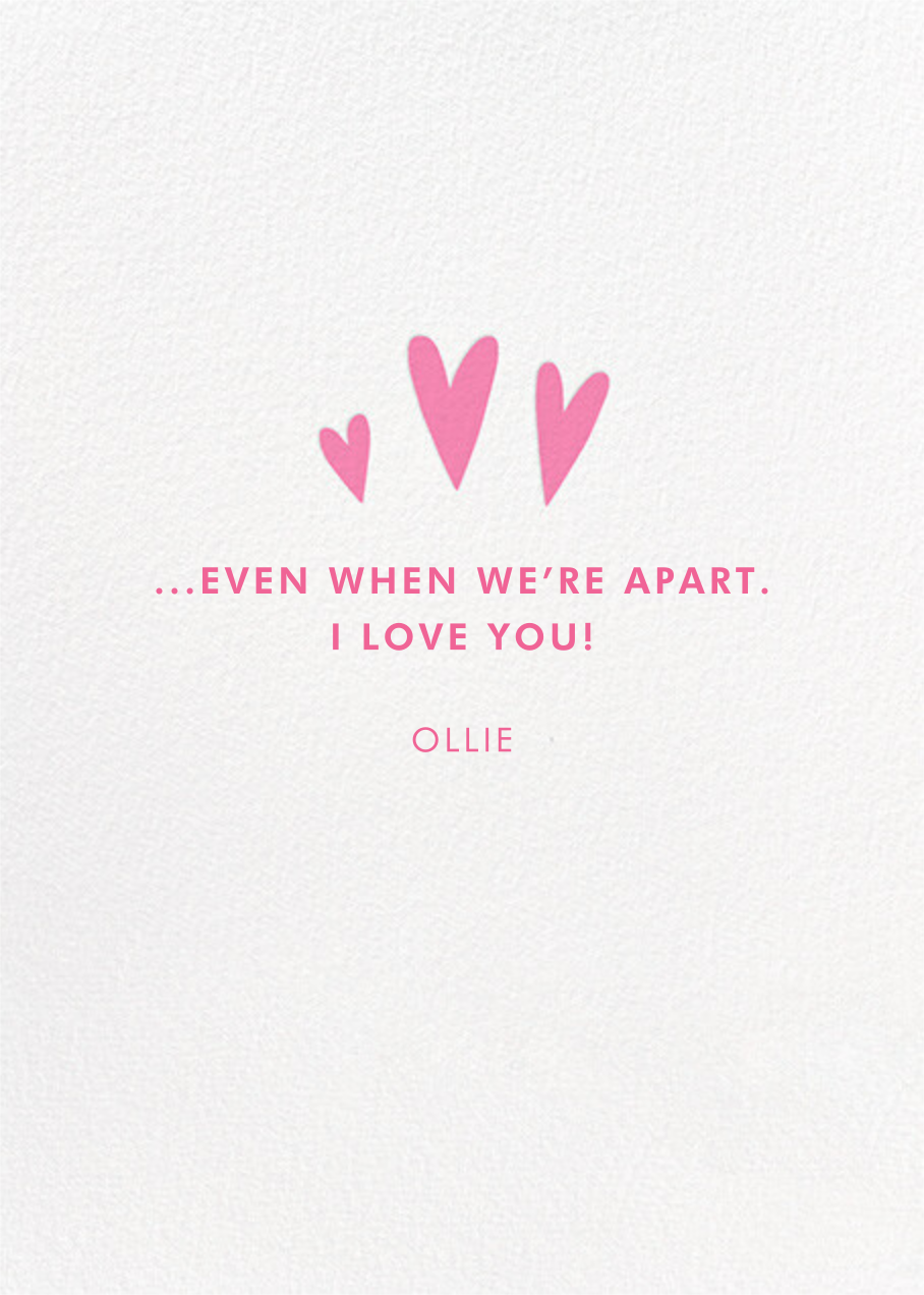 Motherly Love - Hello!Lucky - Valentine's Day - card back