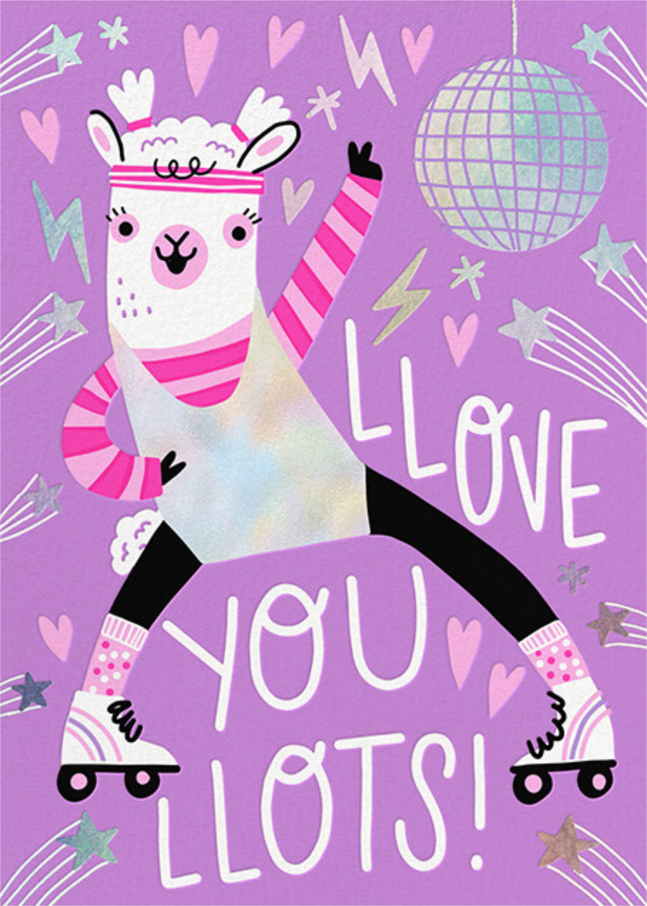 Llama Love - Hello!Lucky - Just because