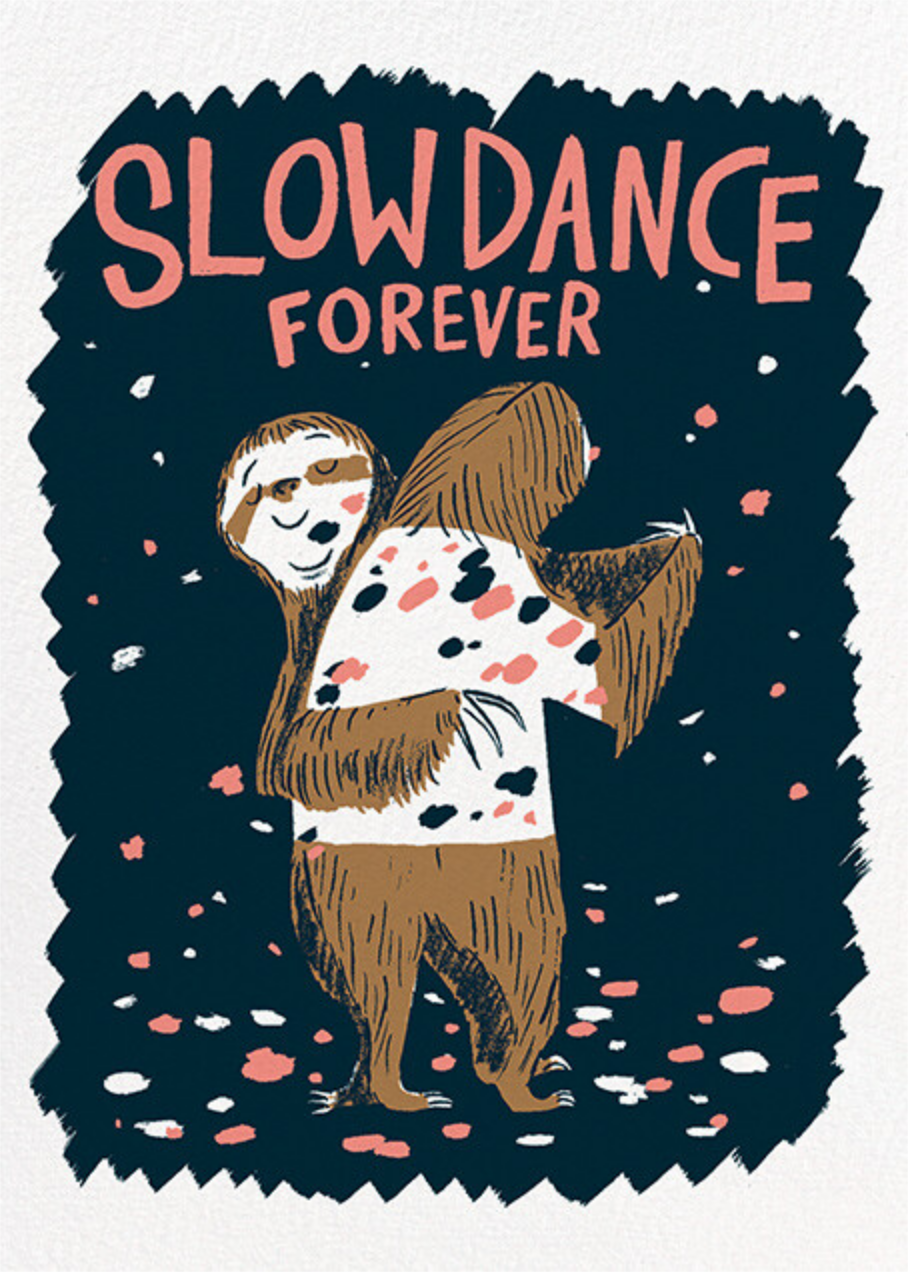 Slow Dance (Nicholas John Frith) - Red Cap Cards - Valentine's Day