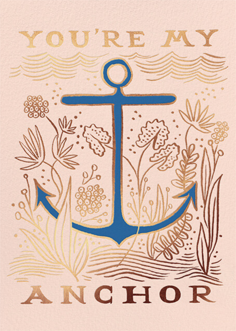 My Anchor - Rifle Paper Co. - Valentine's Day