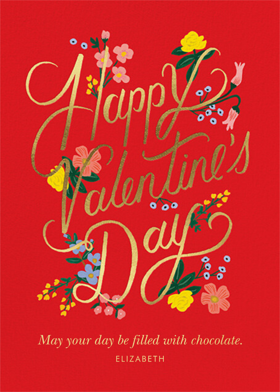 Rouge Valentine's Day - Rifle Paper Co.