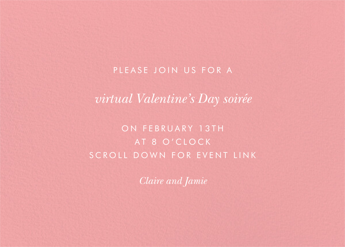 Wildwood Galentine's Day - Rifle Paper Co. - Valentine's Day - card back