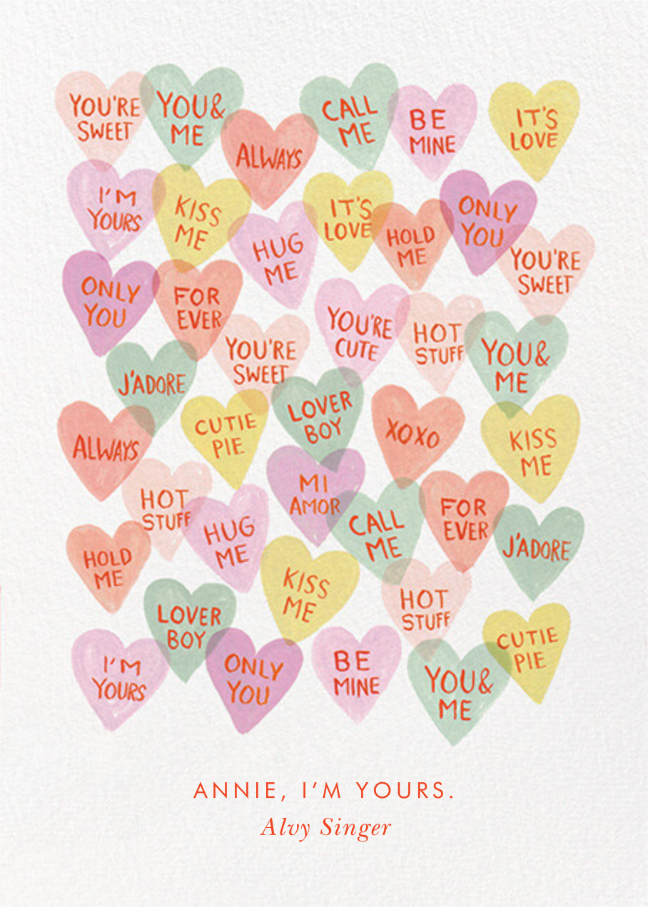 Candy Hearts - Rifle Paper Co. - Valentine's Day