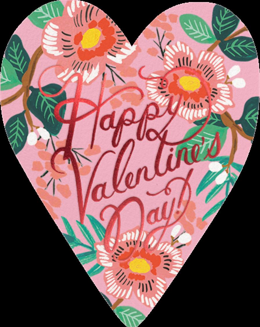 Heart Blossom Valentine's Day - Rifle Paper Co. - Valentine's Day