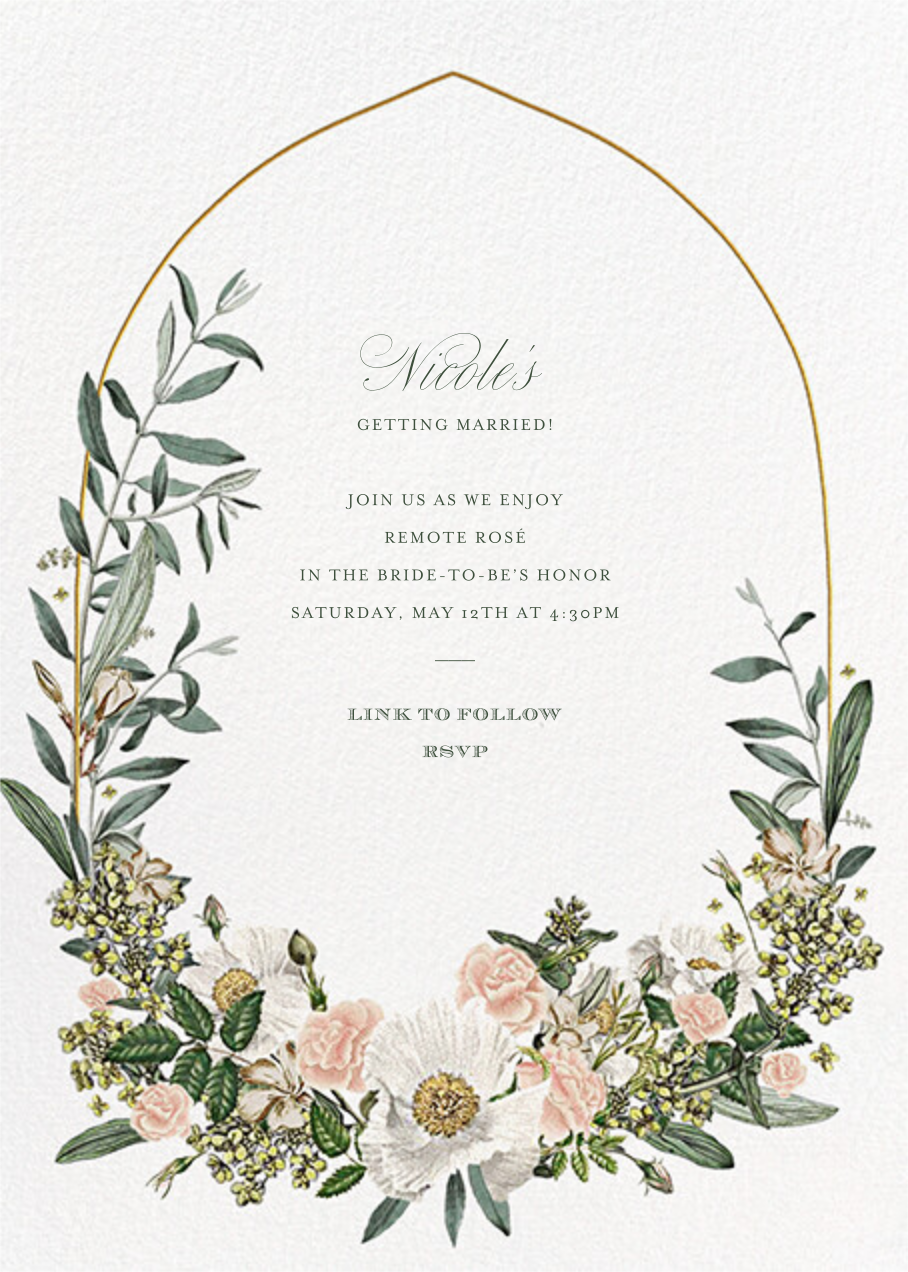 Mirabelle (Invitation) - Paperless Post - Bridal shower