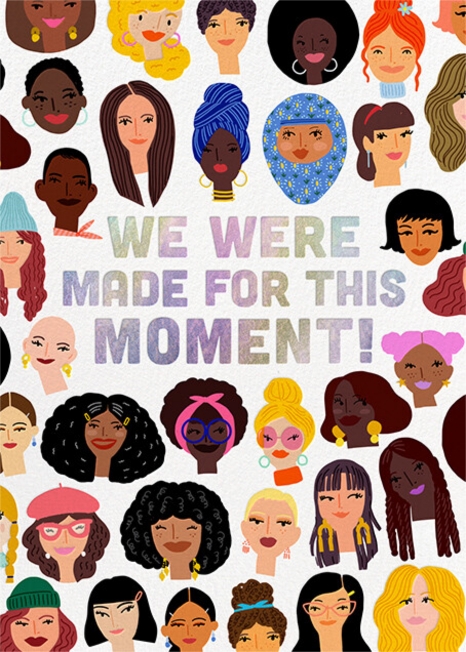 Our Moment - Hello!Lucky - International Women's Day