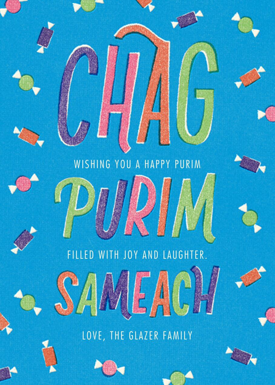 Chag Purim Sameach (Greeting) - Paperless Post