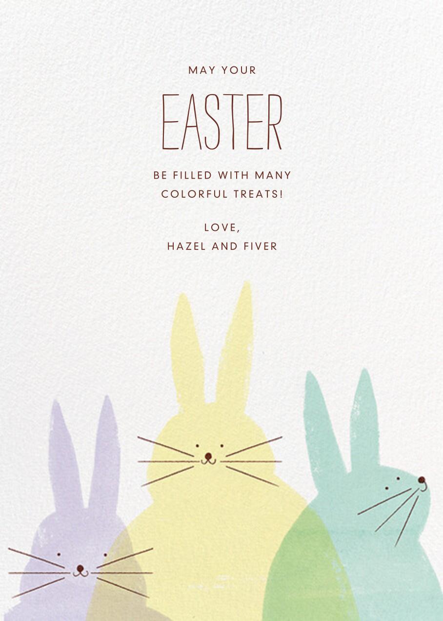Bunny Bunnies - Paperless Post - Easter